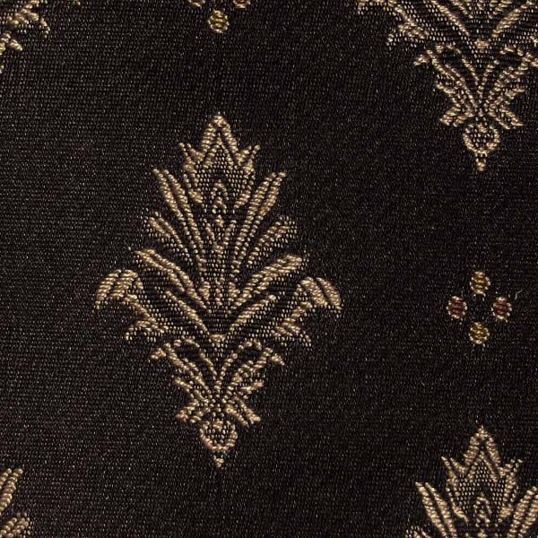 Faremont Fleur Nero Fabric - SR12202