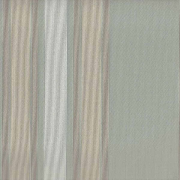 Flatweave Multi Stripe Duck Egg Fabric  - SR12355
