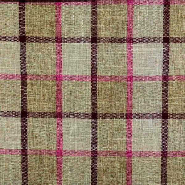 Beaumont Check Pattern Camel Fabric