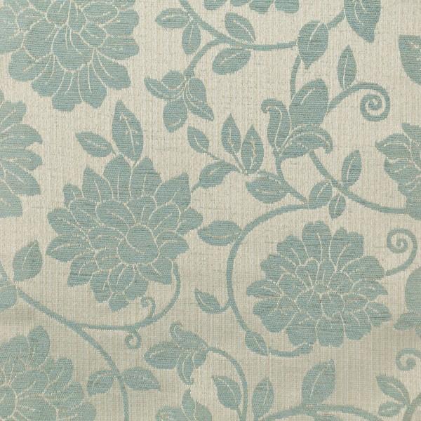 Woburn Floral Blue Fabric - SR17071