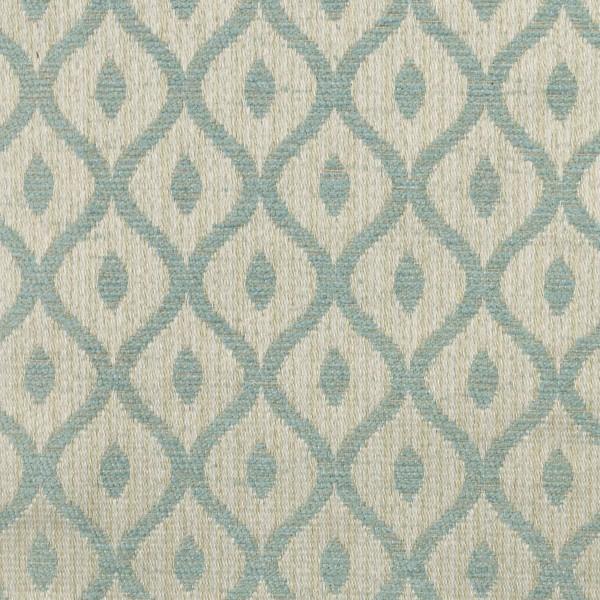 Woburn Trellis Blue Fabric - SR17081