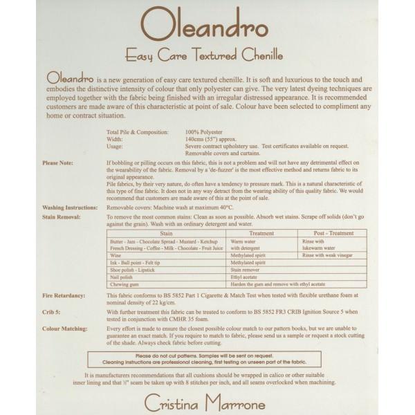 Oleandro Twilight Fabric - OLE1419