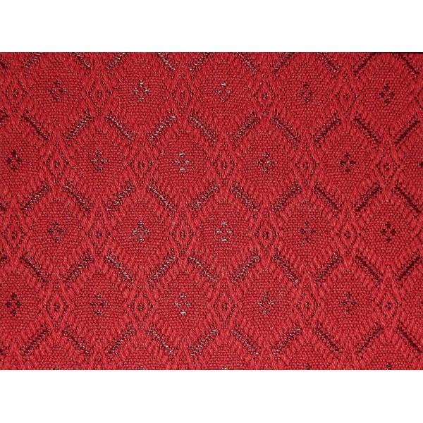 Bramley Honeycomb Cranberry Fabric - SR15141