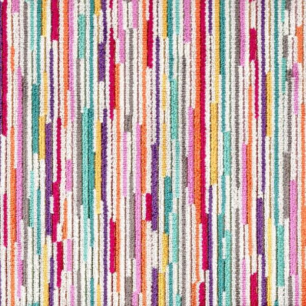 Extravaganza Stripe Burst Rainbow Fabric - EXT2542