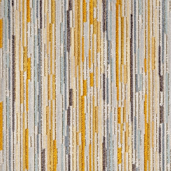 Extravaganza Stripe Burst Mustard Yellow Fabric - EXT2543