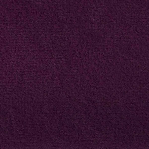 Plush Plum Purple Velvet Fabric - PLU77