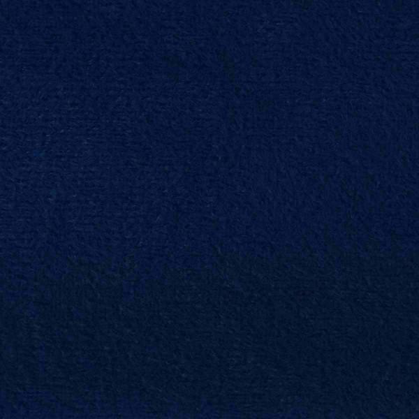 Plush Navy Blue Velvet Fabric - PLU79